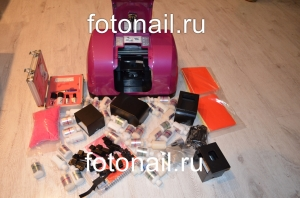 Принтер для ногтей, цветов, сувениров и мобильных hpeget (полная комплектация)